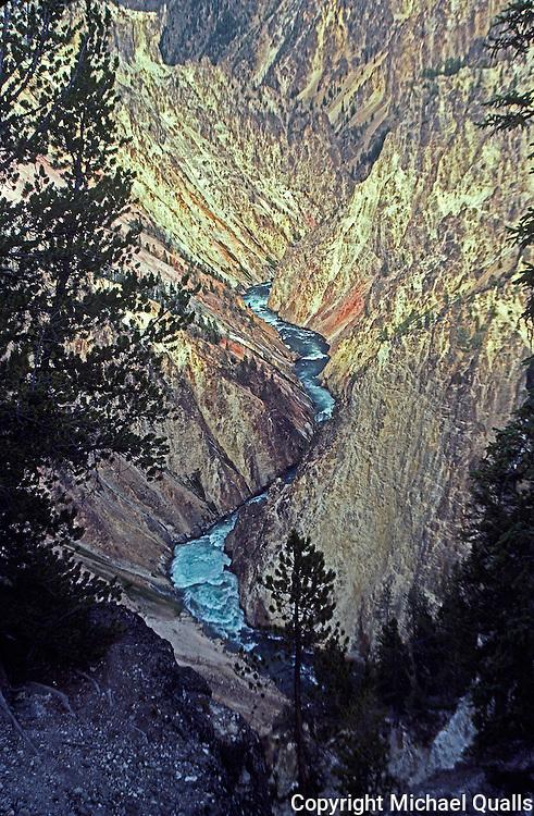 Grand Canyon of the Yellostone.  Yellowstone NP.  Wyoming.  USA.