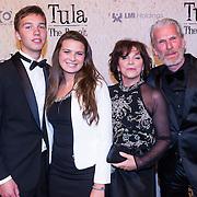 NLD/Amsterdam/20130625 - Premiere van de film Tula The Revolt, Henriette Tol met paar partner Rob Snoek en dochter Louise
