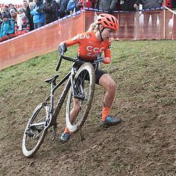 19-01-2020: Wielrennen: Wereldbeker Veldrijden: Nommay <br />Inge van der Heijden