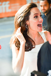 September 10, 2017 - Toronto, Ontario, Canada - Actress ANGELINA JOLIE attends 'The Breadwinner' Premiere  during the 2017 Toronto International Film Festival at Winter  Garden Theater on September 10, 2017 in Toronto, Canada (Credit Image: © Igor Vidyashev via ZUMA Wire)