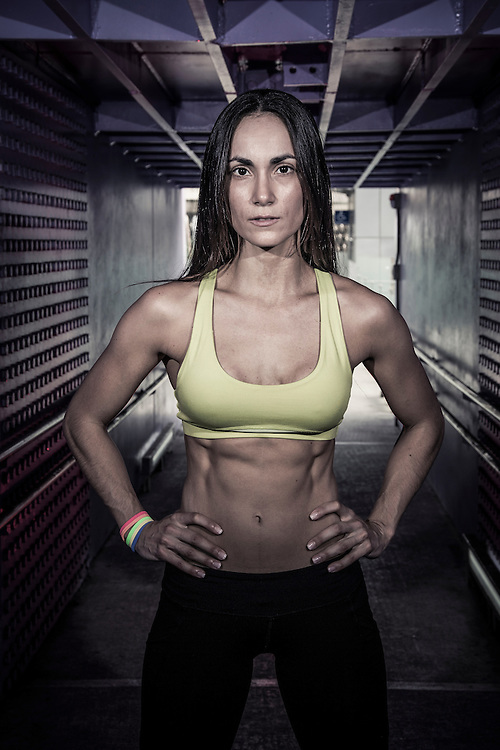 Portrait of a female personal trainer.