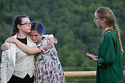 """Performance of """"Much Ado About Nothing"""" by the Chelsea Funnery in Chelsea, Vt., on July 22, 2016. Profits from print sales to benefit the Funnery Scholarship Fund. (Photo by Geoff Hansen)"""