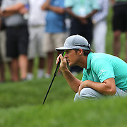 Will Mackenzie in action during the second round of theThe Barclays Golf Tournament at The Ridgewood Country Club, Paramus, New Jersey, USA. 22nd August 2014. Photo Tim Clayton