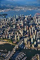 Burrard Street Bridge & City of Vancouver