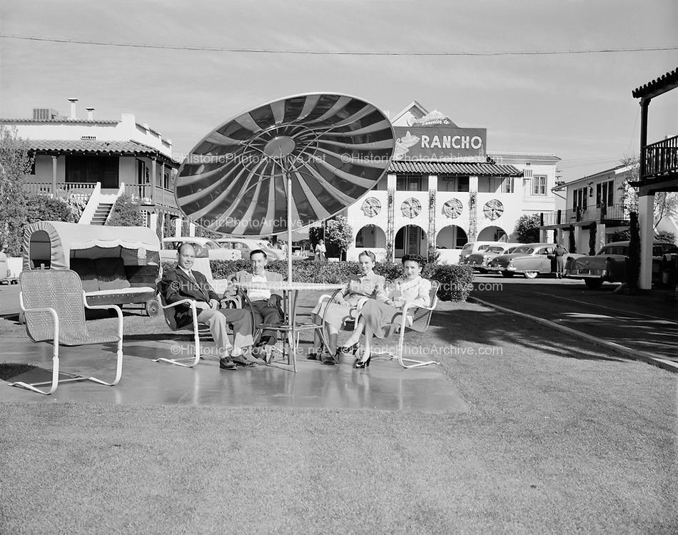 0301-355B El Rancho Motel, Phoenix 1950s 2353 East Van Buren, Phoenix