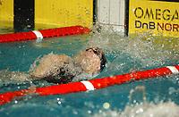 NM svømming senior/05032004/ Grottebadet i Harstad/ Allan Jørgensen Tromsø SK/50m rygg herrer forsøk/<br /> FOTO: KAJA BAARDSEN/DIGITALSPORT