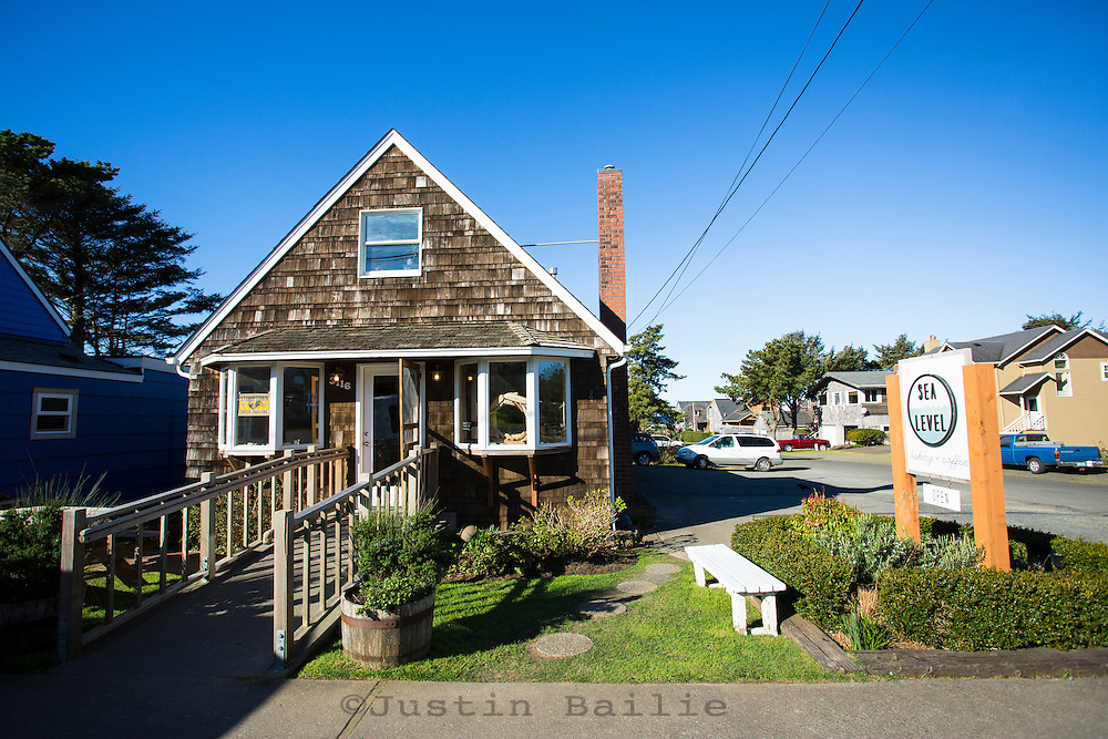 Sea Level Bakery in Cannon Beach, Oregon.