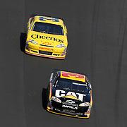 Sprint Cup Series driver Jeff Burton (31) and Sprint Cup Series driver Clint Bowyer (33) during the Daytona 500 Sprint Cup Race at Daytona International Speedway on February 20, 2011 in Daytona Beach, Florida. (AP Photo/Alex Menendez)