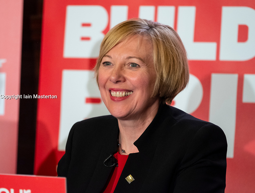 Glasgow, UK. 11 May, 2018. Lesley Laird, Labour MP for Kirkcaldy & Cowdenbeath giving a speech in Govan, Glasgow.