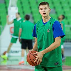 20150929: SLO, Basketball - Practice session of KK Union Olimpija