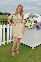 LADY KITTY SPENCER at the Cartier Queen's Cup Polo final at Guard's Polo Club, Smiths Lawn, Windsor Great Park, Egham, Surrey on 14th June 2015