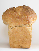 the outside of a white bread