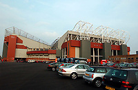 Photo. Jed Wee, Digitalsport<br /> NORWAY ONLY.<br /> Manchester United v Real Madrid. UEFA Champions League Quarter Final 2nd leg. 23/04/2003<br /> Old Trafford