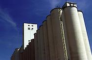 A 31 MG IMAGE OF:.A grain elevator in Denver, Colorado Photo by Dennis Brack
