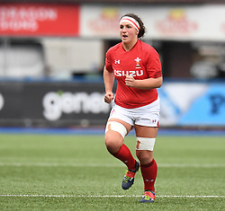 Wales Siwan Lillicrap<br /> Wales Women v South Africa Women<br /> Autumn International<br /> <br /> Photographer Mike Jones / Replay Images<br /> Cardiff Arms Park<br /> 10th November 2018<br /> <br /> World Copyright © 2018 Replay Images. All rights reserved. info@replayimages.co.uk - http://replayimages.co.uk