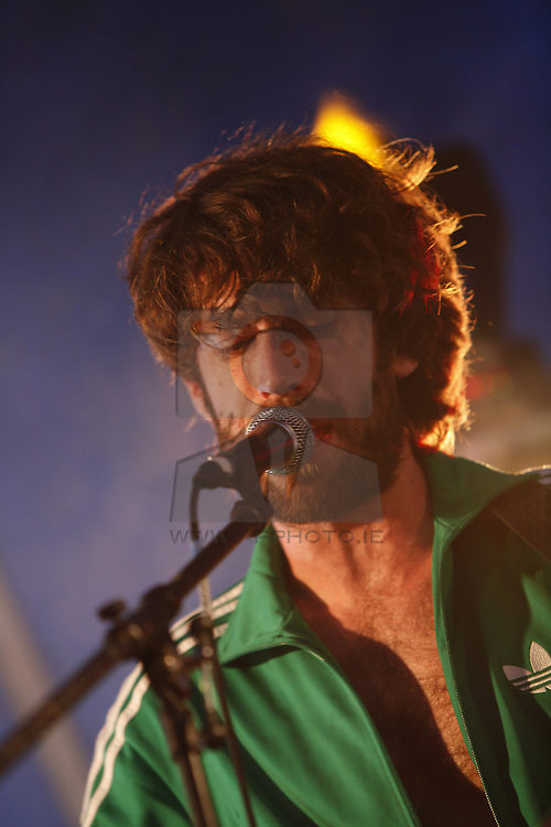 The Bull Munro performing live at the Castle Palooza music festival 2010. Pic Andres Poveda
