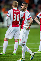 24-05-2017 SWE: Final Europa League AFC Ajax - Manchester United, Stockholm<br /> Finale Europa League tussen Ajax en Manchester United in het Friends Arena te Stockholm / Hakim Ziyech #22 of Ajax
