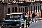 Grao Mongol _ MG, 07 de agosto de 2007..Fotografias feitas no Vale do Jequitinhonha para a Revista Globo Rural cujo tema é Garimpo...Na foto: imagens da Cidade de Couto de Magalhaes...FOTO: JOAO MARCOS ROSA / AGENCIA NITRO