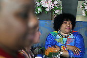 June 12, 2017-New York, New York-United States: South African Ambassador Zindzi and others attend ' Cocktails & Conversation with Ambassador Zindzi Mandela 'highlighting the advocacy for the equity and rights of girls and women held at the Lincoln Ristorante at Lincoln Center on June 12, 2017 in New York City. Powered by CareerBox Soweto, the organization's mission is fulfill the hopes and dreams of youth of South Africa. (Photo by Terrence Jennings/terrencejennings.com)