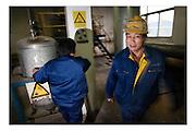 Shangai, China, Jan 23, 2008, Fengxian chemical plant. PHOTO©Christophe VANDER EECKEN