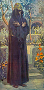 """JOEL. Joel i 1. """"The word of the Lorp that came to Joel the son of Pethuel. From the book ' The Old Testament : three hundred and ninety-six compositions illustrating the Old Testament ' Part II by J. James Tissot Published by M. de Brunoff in Paris, London and New York in 1904"""