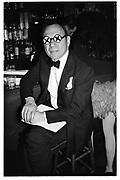 Anthony Haden-Guest, Dada Ball, New York. 1994. © Copyright Photograph by Dafydd Jones 66 Stockwell Park Rd. London SW9 0DA Tel 020 7733 0108 www.dafjones.com