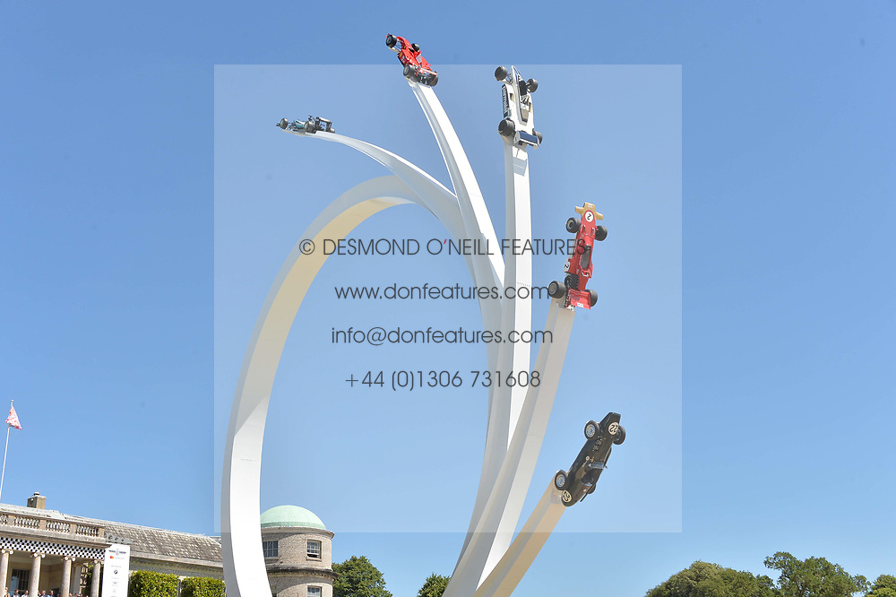 Atmosphere at the Cartier Style et Luxe at the Goodwood Festival of Speed, Goodwood, West Sussex, England. 2 July 2017.