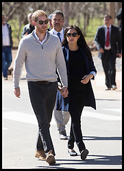 February 24, 2019 - Asni, Morocco - Image Licensed to i-Images Picture Agency. 24/02/2019. Asni, Morocco. Prince Harry and Meghan Markle, The Duke and Duchess of Sussex arriving for a visit to a boarding house in Asni on day two of their tour of Morocco. (Credit Image: © Stephen Lock/i-Images via ZUMA Press)