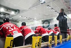 Team Austria during match at Beat Covid 19 IIH Tournament 2021 between national teams of Poland and Austria in Hala Tivoli on 17th of May, 2021, Ljubljana, Slovenia . Photo By Grega Valancic / Sportida