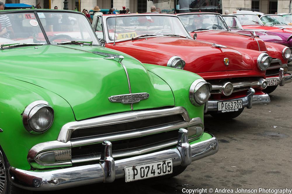 Classic cars, Havana, Cuba