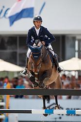 Arroyave Dayro, COL, Uciano de la Botte<br /> Rolex Grand Prix CSI 5* - Knokke 2017<br /> © Hippo Foto - Dirk Caremans<br /> 09/07/17