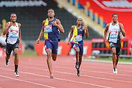 Men's 400m during the Muller Grand Prix at Alexander Stadium, Birmingham, United Kingdom on 18 August 2019.