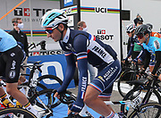Nans Peters of France during the 2020 UCI World Road Championships, Men Elite Road Race, on September 27, 2020 at Autodromo Enzo and Dino Ferrari in Imola, Italy - Photo Laurent Lairys / ProSportsImages / DPPI