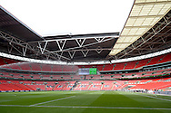 Wembley Stadium during the FA Vase match between Hereford FC  and Morpeth Town at Wembley Stadium, London, England on 22 May 2016. Photo by Dennis Goodwin.