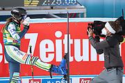 SOELDEN, AUSTRIA. OCTOBER 17 2020:  1st Women's Giant Slalom as part of the Alpine Ski World Cup in Solden on October 17, 2020; Run 2, Ana Bucik (SLO) ( Pierre Teyssot/ESPA Images-Image of Sport)