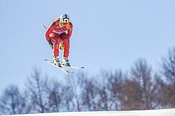 February 15, 2018 - Jeongseon, Gangwon, South Korea - Matthias Mayer of Austria of Germany competing in mens downhill at Jeongseon Alpine Centre at Jeongseon , South Korea on February 15, 2018. (Credit Image: © Ulrik Pedersen/NurPhoto via ZUMA Press)