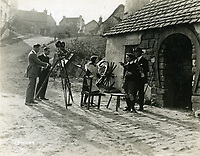 1922 Filming at Famous Players Lasky Studios in Hollywood