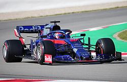 March 1, 2019 - Barcelona, Spain - the Toro Rosso of Daniel Kvyat during the Formula 1 test in Barcelona, on 01st March 2019, in Barcelona, Spain. (Credit Image: © Joan Valls/NurPhoto via ZUMA Press)