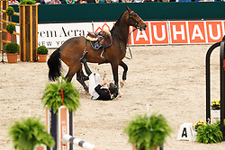 Lynch Denis (IRL) - Abbervail vh Dingeshof<br /> Rolex FEI World Cup Final Jumping 2011<br /> © Hippo Foto - Leanjo de Koster