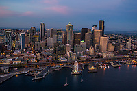 Elliott Bay & Downtown Seattle