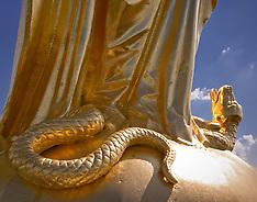 Mary Statue Closeup