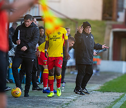Partick Thistle's Ian McCo;; after Dunfermline's first goal. Dunfermline 5 v 1 Partick Thistle, Scottish Championship game played 30/11/2019 at Dunfermline's home ground, East End Park.