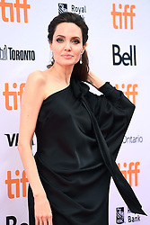 """Actress Angelina Jolie attends the """"First They Killed My Father"""" Premiere on day five of the 2017 Toronto International Film Festival at Princess of Wales Theatre in Toronto, Ontario, Canada, on September 11, 2017. (Photo by Anthony Behar/Sipa USA)"""