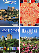 PRODUCT: Book<br /> TITLE: WInnipeg, London, Hamilton, Canada's Technology Triangle<br /> CLIENT: Community Communications