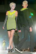 Omaha, NEB 9/19/09.Model's for Jennie Mason's line had a zombie-style make-up...Chris Machian/The World-Herald
