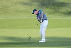 August 10, 2018 - Town And Country, Missouri, U.S - RUSSELL HANLEY from kiawah Island South Carolina, USA hits from the fairway on hole number four during round two of the 100th PGA Championship on Friday, August 10, 2018, held at Bellerive Country Club in Town and Country, MO (Photo credit Richard Ulreich / ZUMA Press) (Credit Image: © Richard Ulreich via ZUMA Wire)