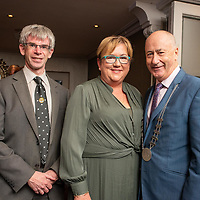 REPRO FREE<br /> Pictured at the opening of the 43rd Kinsale Gourmet Festival at the Blue Haven were Niall Healy, Cork County Council; Cllr. Marie O'Sullivan and Cllr. Alan Coleman, Chair of the Bandon Kinsale District. <br /> Picture. John Allen