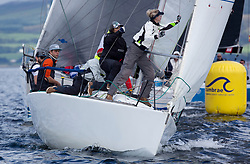 Largs Regatta Week 2017 <br /> Day 1<br /> <br /> GBR2506T, Edgy, Doug & Alastair Paton, Fairlie Yacht Club, Beneteau 25<br /> Picture Marc Turner