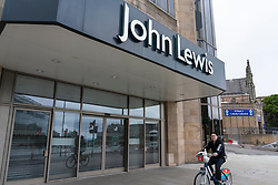 Edinburgh, Scotland, UK. 28 June, 2020. Exterior view of John Lewis store in Edinburgh. With many shops in Scotland preparing to re-open on Monday 29 June, John Lewis is not opening at present and is reviewing the future of it's stores in the UK.  Iain Masterton/Alamy Live News
