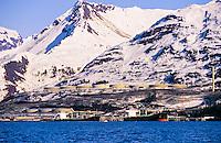 Alyeska Pipeline Terminal, Valdez, Alaska USA